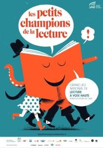 Affiche Les Petits Champions de la lecture