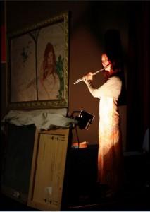 Géraldine Thébault dans L'Os du dodo par Julien Coupet